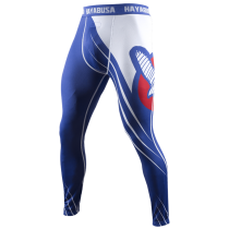 Recast Compression Pants - Blue/White